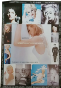 SOMETHING TO REMEMBER - UK 1995 ALBUM PROMO POSTER